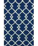 RugStudio presents Nuloom Hand Tufted Tara Navy Hand-Tufted, Good Quality Area Rug