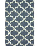 RugStudio presents Nuloom Flatweave Lavo Denim Flat-Woven Area Rug