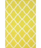 RugStudio presents Nuloom Flatweave Pop Trellis Yellow Flat-Woven Area Rug