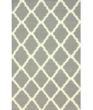 RugStudio presents Nuloom Flatweave Pop Trellis Grey Flat-Woven Area Rug