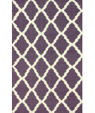 RugStudio presents Nuloom Flatweave Pop Trellis Purple Flat-Woven Area Rug