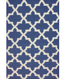 RugStudio presents Nuloom Flatweave Lisa Blue Flat-Woven Area Rug