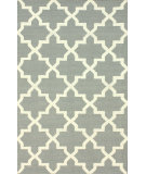 RugStudio presents Nuloom Flatweave Lisa Grey Flat-Woven Area Rug