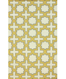 RugStudio presents Nuloom Flatweave Trisha Yellow Flat-Woven Area Rug
