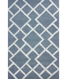 RugStudio presents Nuloom Hand Tufted Palmira Grey Hand-Tufted, Good Quality Area Rug