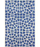 RugStudio presents Nuloom Hand Tufted Hudson Blue Hand-Tufted, Good Quality Area Rug