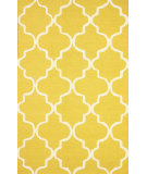 RugStudio presents Nuloom Hand Tufted Sasha Yellow Hand-Tufted, Good Quality Area Rug
