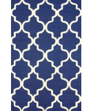 RugStudio presents Nuloom Hand Tufted Sasha Navy Hand-Tufted, Good Quality Area Rug