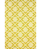 RugStudio presents Nuloom Hand Tufted Carson Yellow Hand-Tufted, Good Quality Area Rug