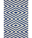 RugStudio presents Nuloom Hand Tufted Blinded Navy Hand-Tufted, Good Quality Area Rug
