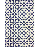 RugStudio presents Nuloom Hand Tufted Gretchen Navy Hand-Tufted, Good Quality Area Rug