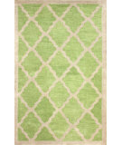 RugStudio presents Nuloom Hand Tufted Aisha Green Hand-Tufted, Good Quality Area Rug