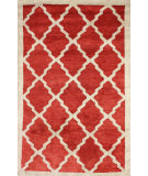 RugStudio presents Nuloom Hand Tufted Aisha Red Hand-Tufted, Good Quality Area Rug