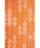 RugStudio presents Nuloom Hand Tufted Coin Vine Orange Hand-Tufted, Good Quality Area Rug