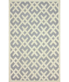 RugStudio presents Nuloom Hand Tufted Twig Lock Grey Hand-Tufted, Good Quality Area Rug