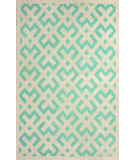 RugStudio presents Nuloom Hand Tufted Twig Lock Green Hand-Tufted, Good Quality Area Rug