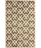 RugStudio presents Nuloom Hand Tufted Twig Lock Brown Hand-Tufted, Good Quality Area Rug
