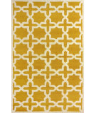 RugStudio presents Nuloom Hand Hooked Hive Trellis Gold Hand-Hooked Area Rug