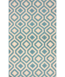 RugStudio presents Nuloom Flatweave Stephania Baby Blue Flat-Woven Area Rug