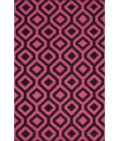 RugStudio presents Nuloom Flatweave Stephania Fuschia Flat-Woven Area Rug