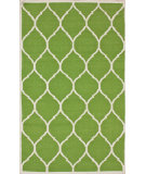 RugStudio presents Nuloom Flatweave Honeycomb Green Flat-Woven Area Rug