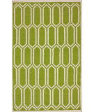 RugStudio presents Nuloom Flatweave Honey Comb Green Flat-Woven Area Rug