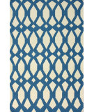 RugStudio presents Nuloom Flatweave Lark Royal Blue Flat-Woven Area Rug
