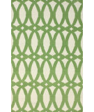 RugStudio presents Nuloom Flatweave Lark Green Flat-Woven Area Rug