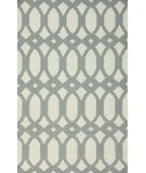 RugStudio presents Nuloom Flatweave Lark Light Grey Flat-Woven Area Rug