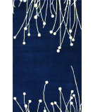 RugStudio presents Nuloom Hand Tufted Desiree Blue Hand-Tufted, Good Quality Area Rug