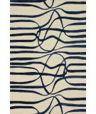 RugStudio presents Nuloom Hand Tufted Elite Navy Hand-Tufted, Good Quality Area Rug