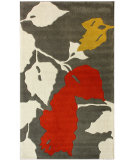 RugStudio presents Nuloom Maison Leaves Red Hand-Tufted, Good Quality Area Rug