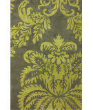 RugStudio presents Nuloom Hand Tufted Trieste Green Hand-Tufted, Good Quality Area Rug