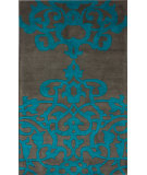 RugStudio presents Nuloom Hand Tufted Viktor Grey Hand-Tufted, Good Quality Area Rug