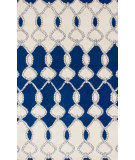 RugStudio presents Nuloom Hand Tufted Lasso Navy Hand-Tufted, Good Quality Area Rug