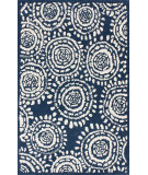 RugStudio presents Nuloom Hand Tufted Batik French Blue Hand-Tufted, Good Quality Area Rug