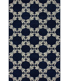 RugStudio presents Nuloom Hand Tufted Miller Navy Hand-Tufted, Good Quality Area Rug