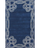 RugStudio presents Nuloom Hand Tufted Marco Polo Royal Blue Hand-Tufted, Good Quality Area Rug
