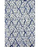 RugStudio presents Nuloom Hand Tufted Bellisima Navy Blue Hand-Tufted, Good Quality Area Rug