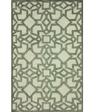 RugStudio presents Nuloom Hand Tufted Kiyana Light Grey Hand-Tufted, Good Quality Area Rug