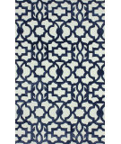 RugStudio presents Nuloom Hand Tufted Mykonos Blue Hand-Tufted, Good Quality Area Rug