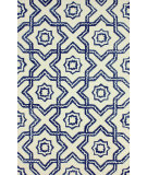 RugStudio presents Nuloom Hand Tufted Spectra Blue Hand-Tufted, Good Quality Area Rug