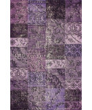 RugStudio presents Nuloom Hand Tufted Marteen Overdyed Style Purple Hand-Tufted, Good Quality Area Rug