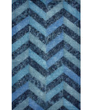RugStudio presents Nuloom Hand Tufted Duke Overdyed Blue Hand-Tufted, Good Quality Area Rug