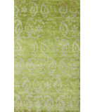 RugStudio presents Nuloom Hand Knotted Marion Sage Green Hand-Knotted, Good Quality Area Rug