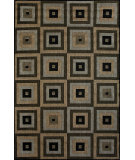 RugStudio presents Nuloom Machine Made Inez Outdoor Haler Brown Machine Woven, Good Quality Area Rug