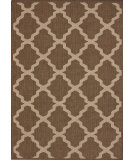 RugStudio presents Nuloom Machine Made Trellis Outdoor Taupe Machine Woven, Good Quality Area Rug