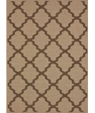 RugStudio presents Nuloom Machine Made Trellis Outdoor Tawny Machine Woven, Good Quality Area Rug