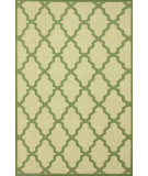 RugStudio presents Nuloom Machine Made Trellis Outdoor Green Machine Woven, Good Quality Area Rug