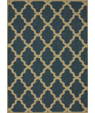 RugStudio presents Nuloom Machine Made Trellis Outdoor Blue Machine Woven, Good Quality Area Rug
